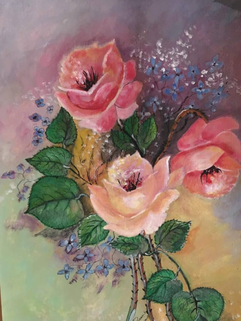 Bouquets de roses DURAND Maurice