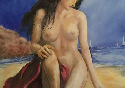 Bronzage à la plage DURAND Maurice