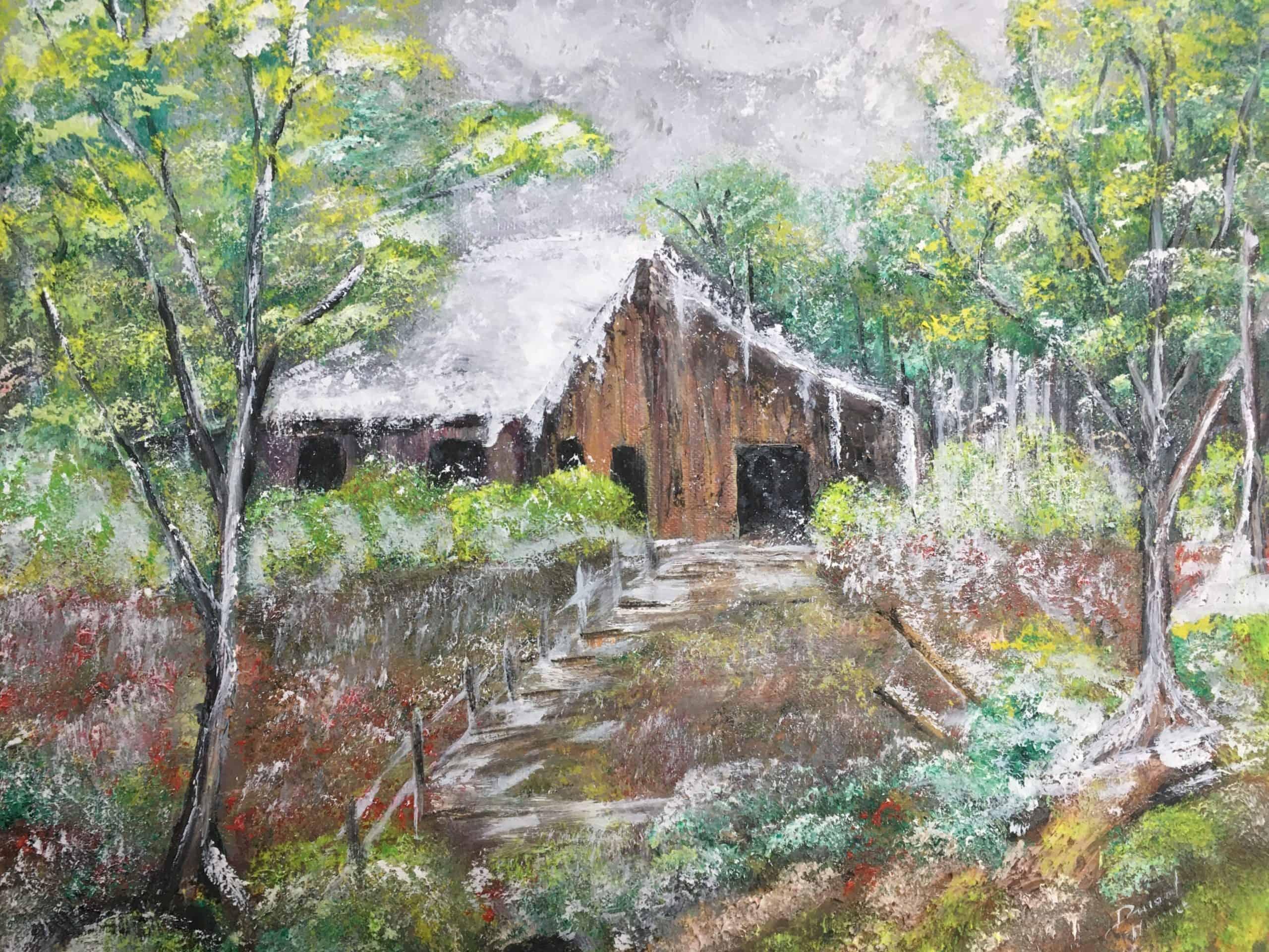Cabane dans les bois Durand Maurice