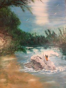 La baignade Durand Maurice
