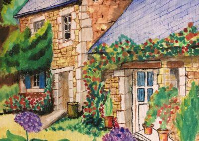 La maison aux hortensias DURAND Maurice
