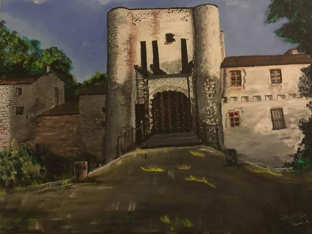 Le château de Villeneuve la Comtesse DURAND Maurice