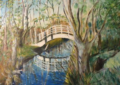 Le pont du marais DURAND Maurice