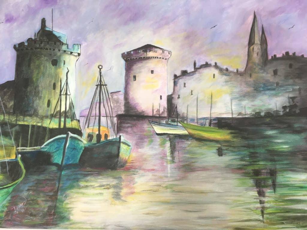 Le port de La Rochelle DURAND Maurice