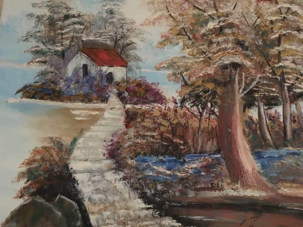 Paysage d'Automne DURAND Maurice