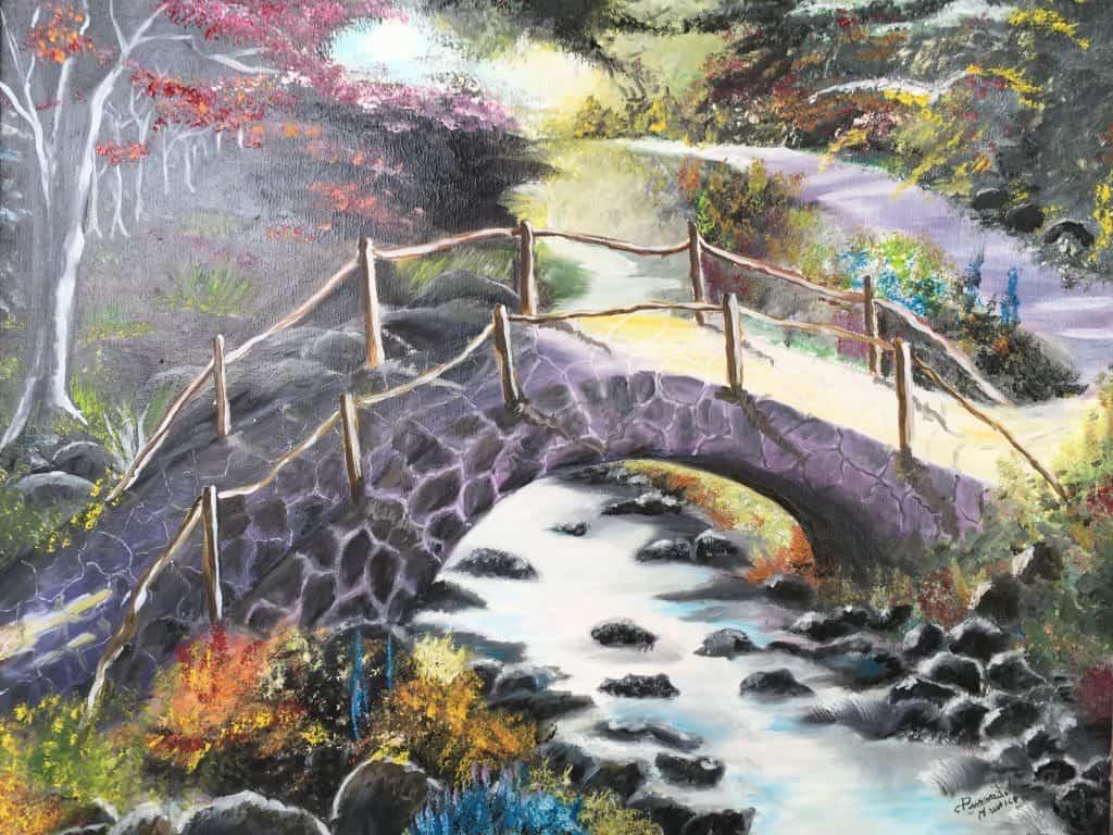Pont violet DURAND Maurice
