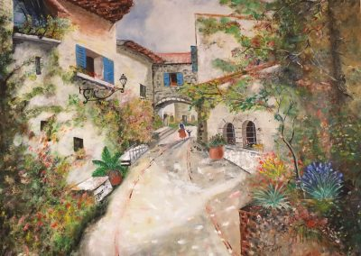 Village provençale DURAND Maurice