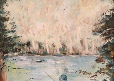 La tranquille du pêcheur DURAND Maurice