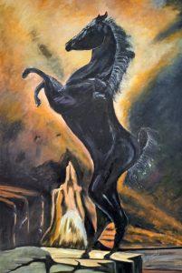 Liberté (cheval noir) DURAND Maurice