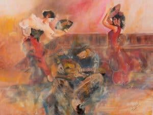 Flamenco dans la peau DURAND Maurice
