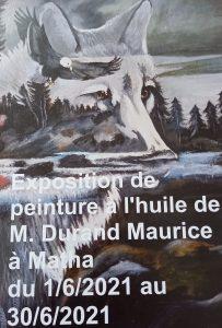 Exposition Matha Durand Maurice