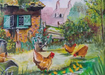 La vie à la ferme DURAND Maurice