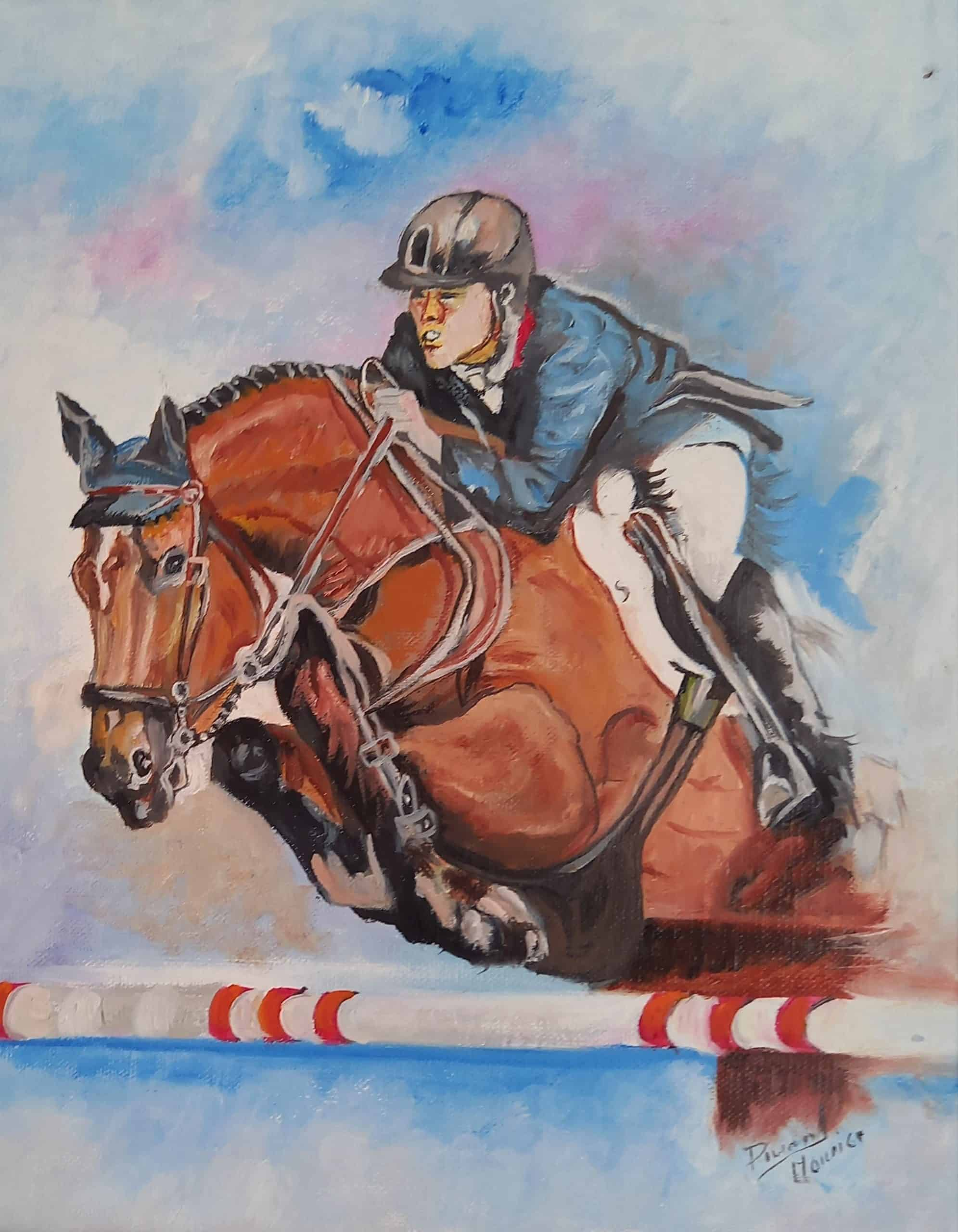 Saut d'obstacle DURAND Maurice